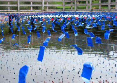 sam dougados, lac marion, lac pouriscot, journée du patrimoine, art environnemental, installations