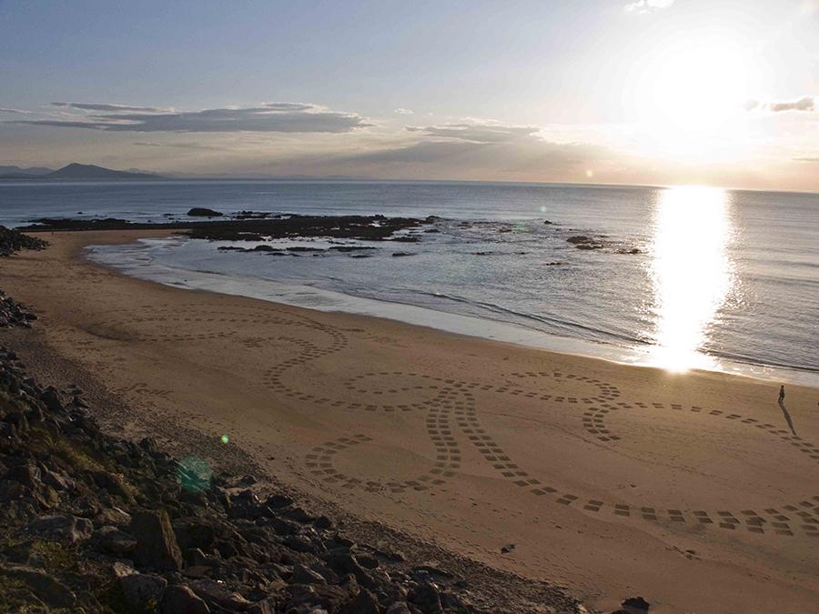 milady, biarritz, dougados, beach art