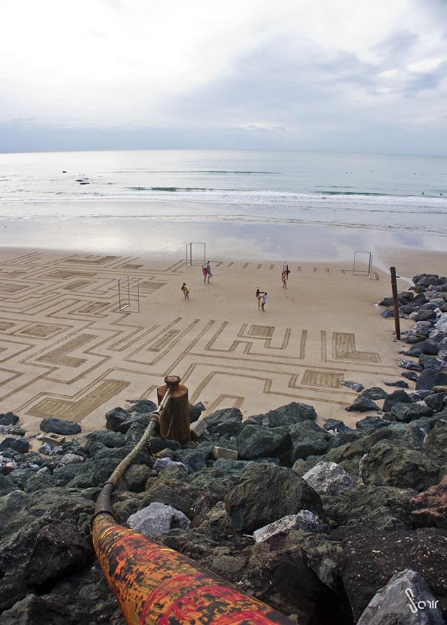 Thierry Malandain, ballet, biarritz, danse, beach art, dougados