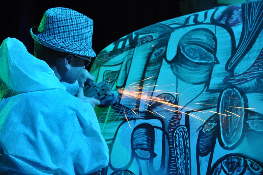 Performance primée au festival des Rencontres improbables 2010