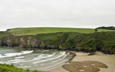 Beach art en Irlande pour le Promenade festival de Tramore