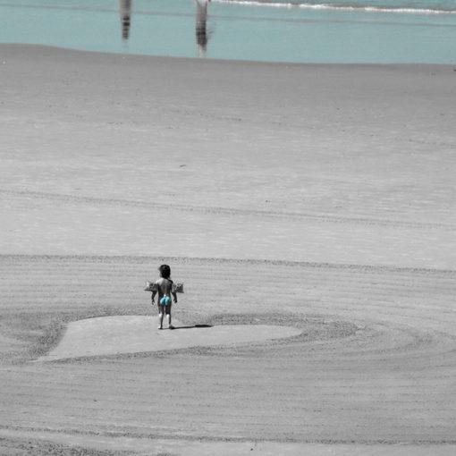 Biarritz, little girl, baby, heart, coeur, dougados