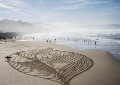 corail, coral, biarritz, dougados, beach art, photography