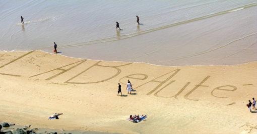 beauté, beach art, dougados, biarritz