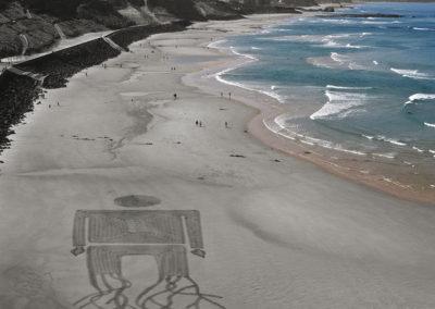 biarritz, beach art, dougados