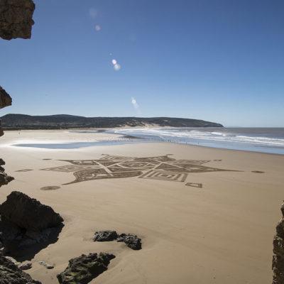 Tafedna, Maroc, Morocco, dougados, beach art