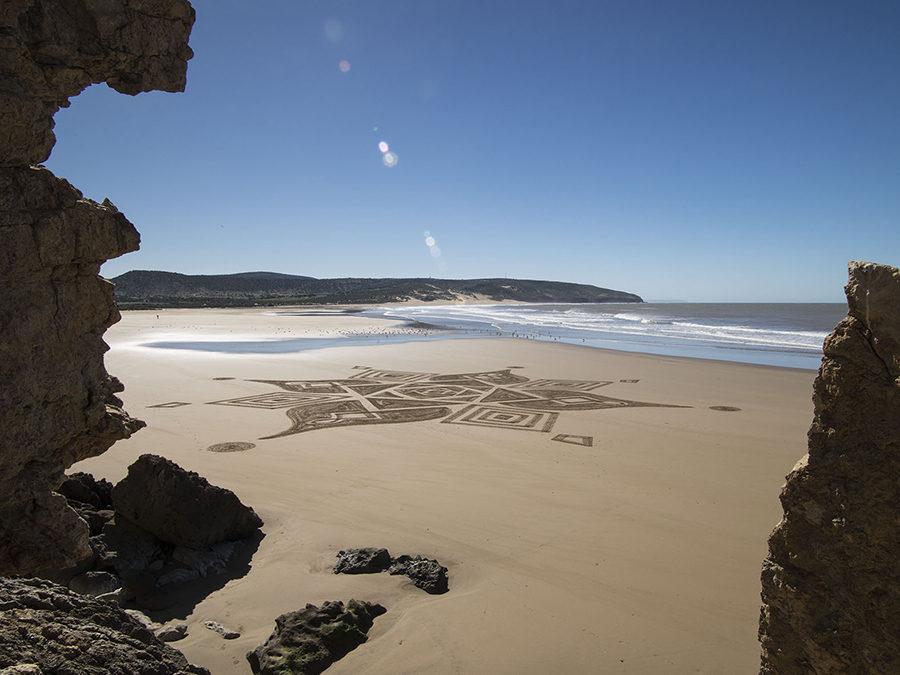 Presque seul sur une immense plage marocaine pendant 3 jours