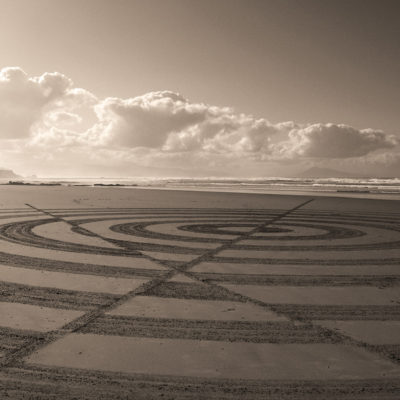 optic, dougados, sepia, biarritz, beach art