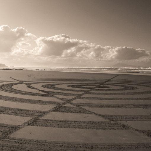 optic, dougados, sepia, biarritz, beach art