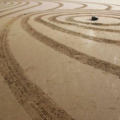 beach art, biarritz, dougados, zen, ligne, plage,