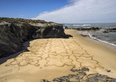vila nova de milfontes, dougados, beach art, azulejos