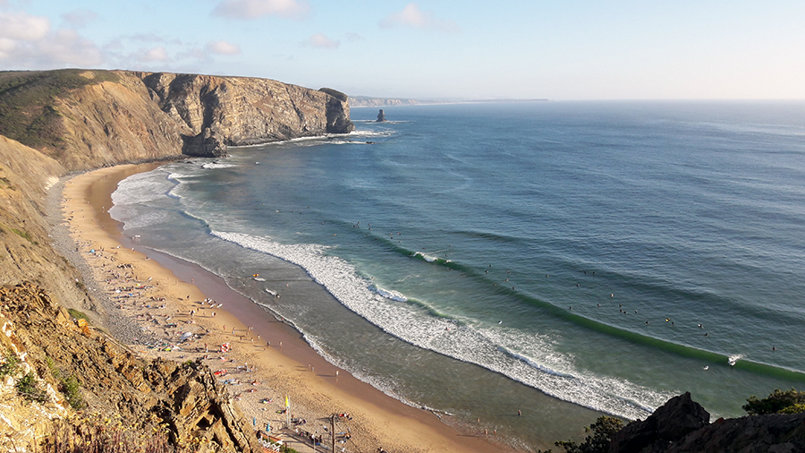 Arrifana, surf, portugal