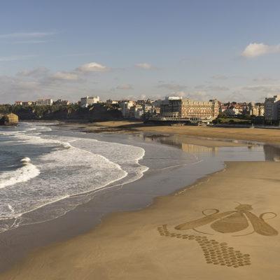 abeille, hotel du palais, biarritz,dougados, plage