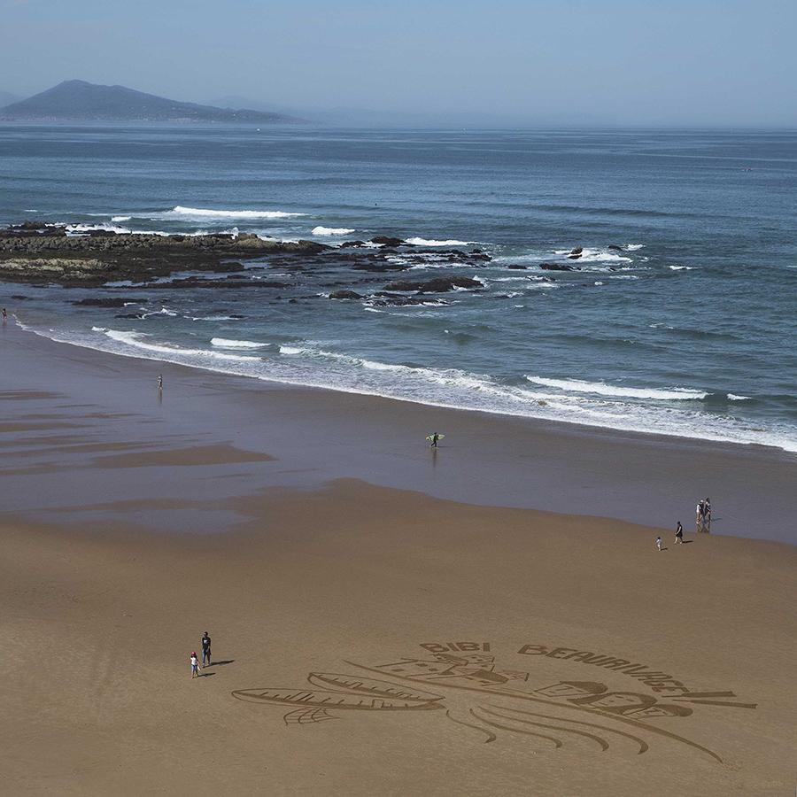 bibi, beaurivage, biarritz, beach art dougados