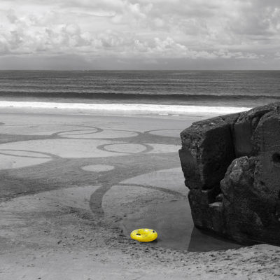 Capbreton, beach art, dougados, bouée, blockhaus