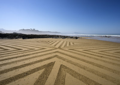 bidart, beach art, dougados, rhune, fog, beach, ocean, photography