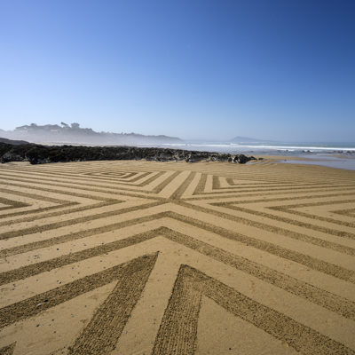 Bidart, beach art, graphisme, dougados, fog, lines, geometry, géométrie, surf, plage, beach