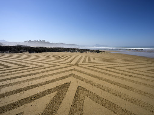Bidart, beach-art, graphisme, dougados, fog, lines, geometry, géométrie, surf, plage, beach