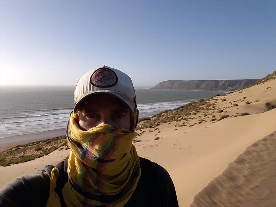 Tafedna, l'âne vert, lodge, dougados, beach art, plage, maroc, morroco