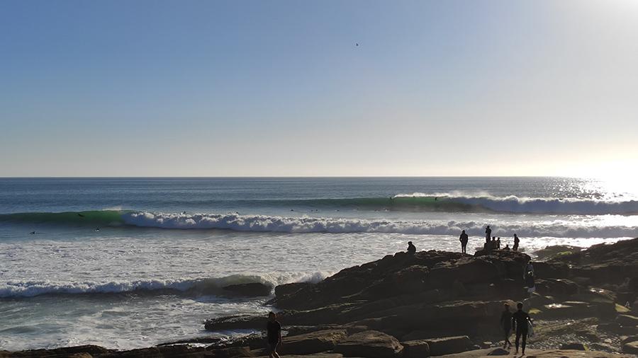 anchor point, surf, vagues, maroc, pointe des ancres